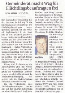 Pforzheimer Zeitung 12.Mai 2016