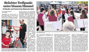 Pforzheimer Kurier 9.Mai 2016